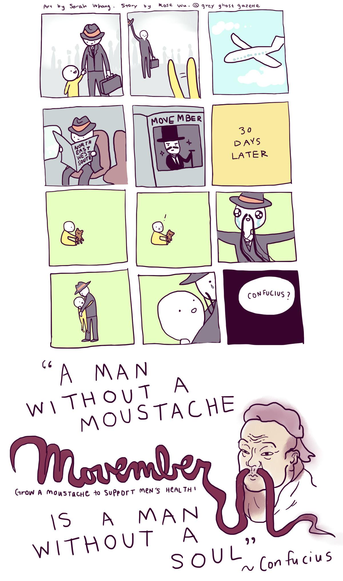 Movember Comic