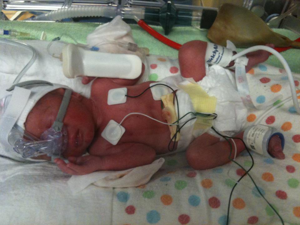 Ryan at birth